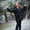 Childhood joy...   First time to see the snow falling..  what an awesome day!