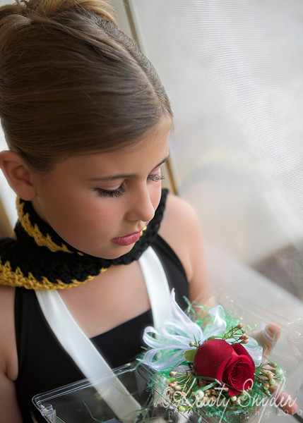 Father-Daughter Dance....  The wrist corsage. :)