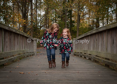 Reese and Ryanne - fall portraits