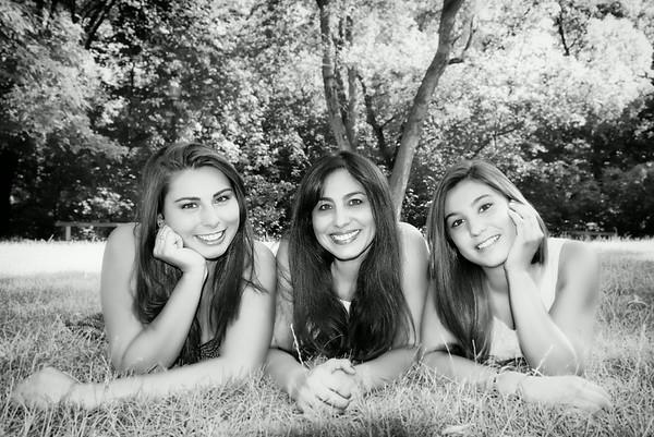 Rhonda, Christina and Shenoa