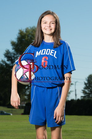 Girls Middle Soccer Model lab