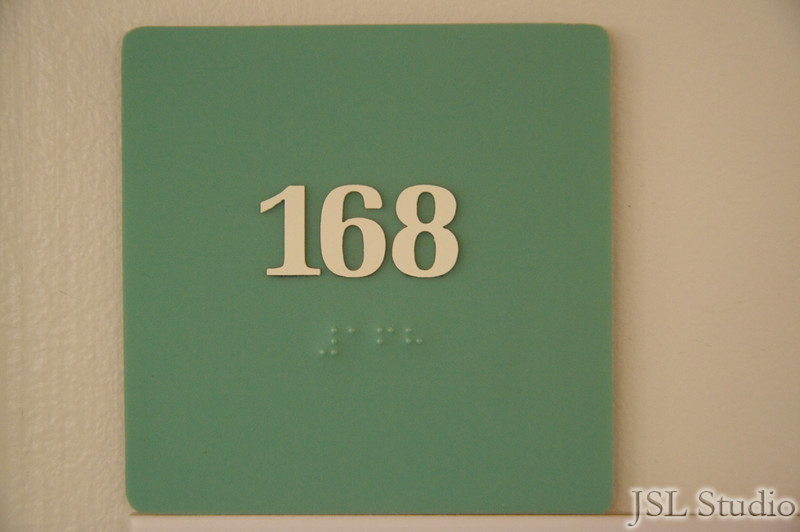 Very nice room number.  She will grow up to be a rich and successful woman.