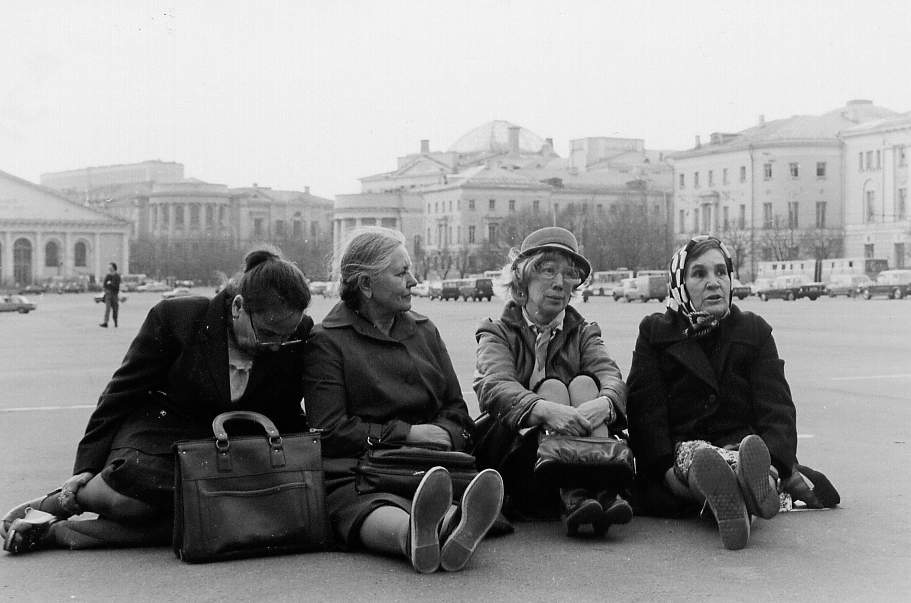 Four unknown women, Moscow