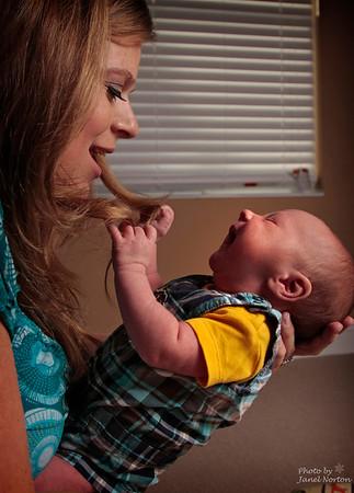 Ryan Jonas and family
