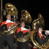 Tubas doing their thing at the game