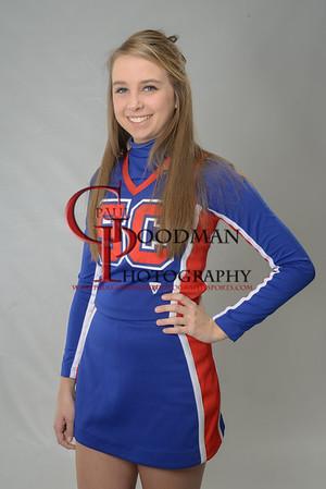 SCHS Cheerleaders seniors