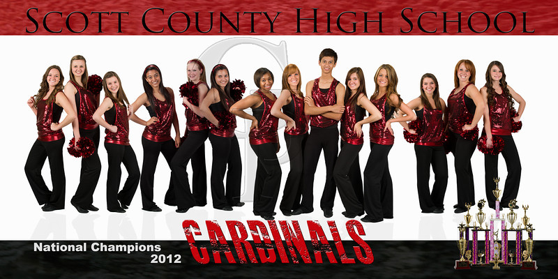 SCHS Dance Team <br /> This print is offered in 2 sizes: 12x24 $25.00 and 5x10 $15.00<br /> To receive the above pricing please email me at Paul@paulgoodmanphotography.com to order.