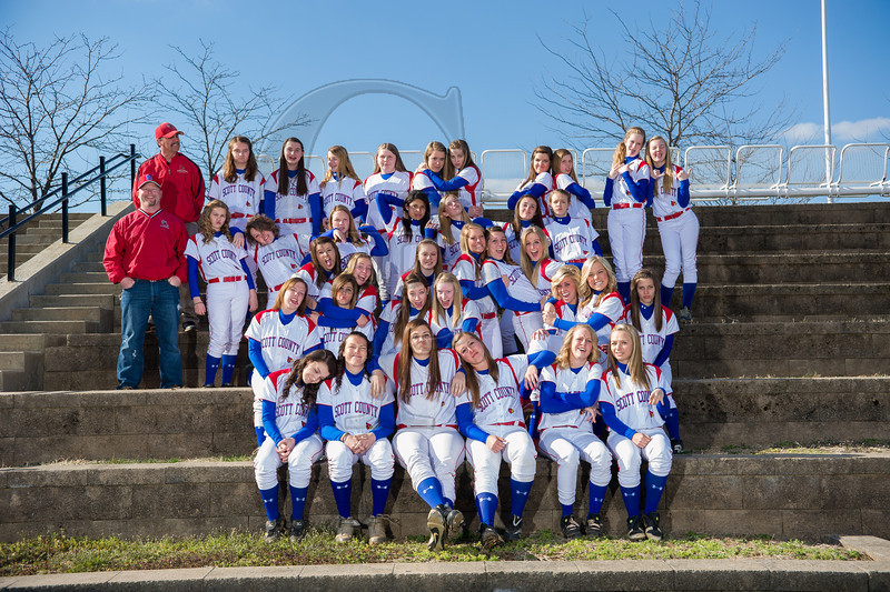 SCHS softball 2012_2013