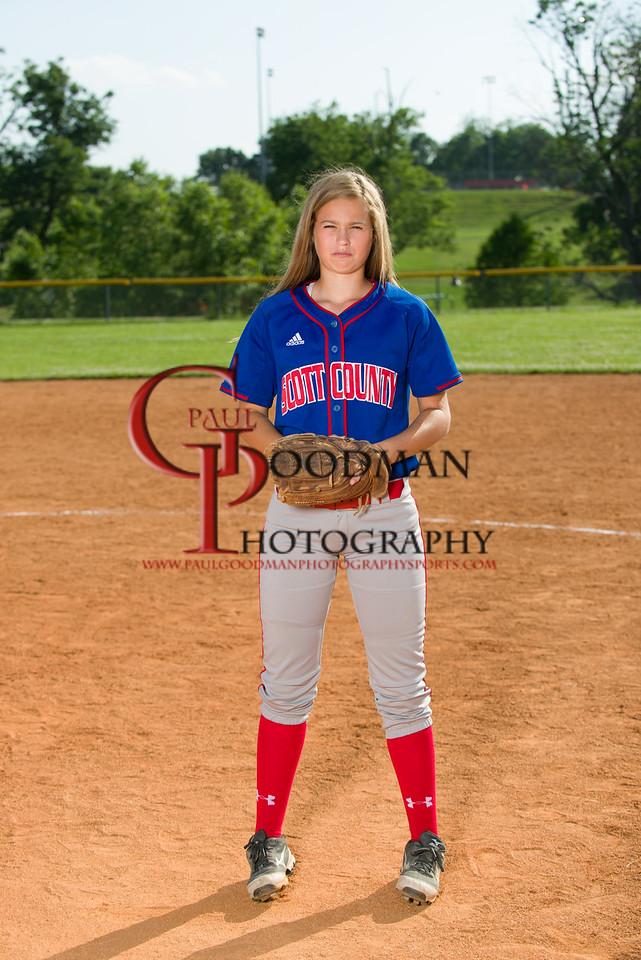 SCHS softball 2014