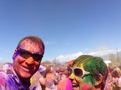 Great photos and some video - 2013 Holi Festival of Colors - Spanish Fork, Utah