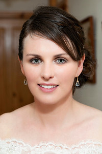 Oonagh on her wedding day