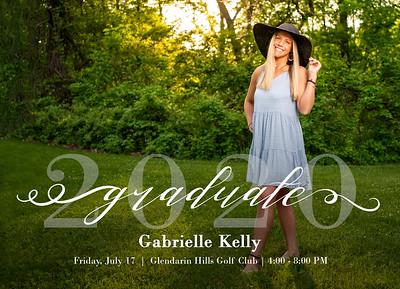Gabby Kelly 2020 Invite Front 001