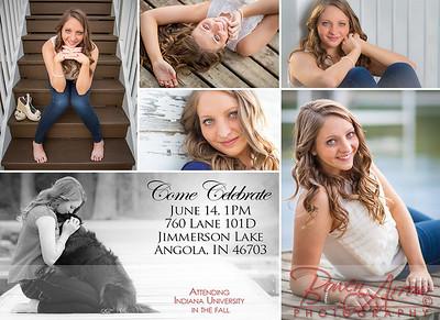 Catherine Stout 2014 Invitation Back