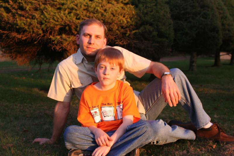 2007 Ben & Taylor<br /> Ben 36, Taylor 9