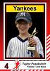 2009_07  Taylor Baseball card