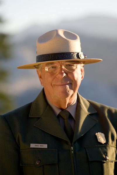 Park Ranger, David Rose.