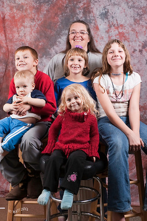 Laura and Grand Kids