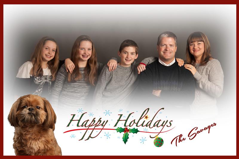 Savage Christmas Card