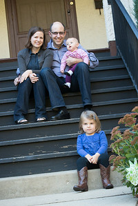 family portraits, home, front steps, backyard, swing-264