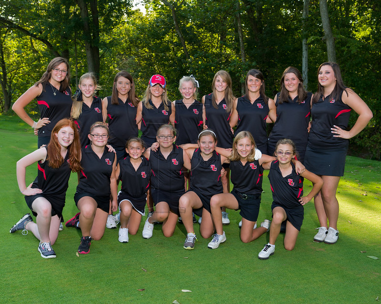 SCHS Girls Golf team