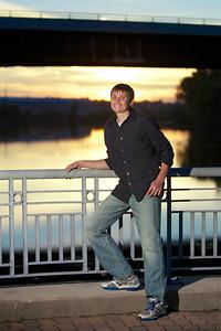 Scottie Trahan Senior Photos Bass Street Boat Landing