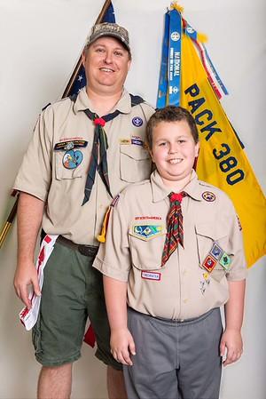 Scout Christmas Portraits