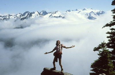 Wild and Crazy Guy, Olympic Mountains, 1978.
