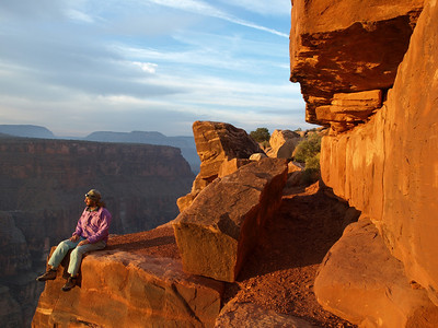 Morning on the North Rim of the Grand Canyon.