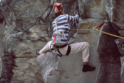 Down and Out, The Gunks, Early 1980's