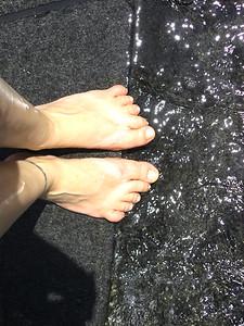 Bel Mar Waterfall Feet