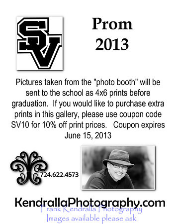 Prom Poster Coupon
