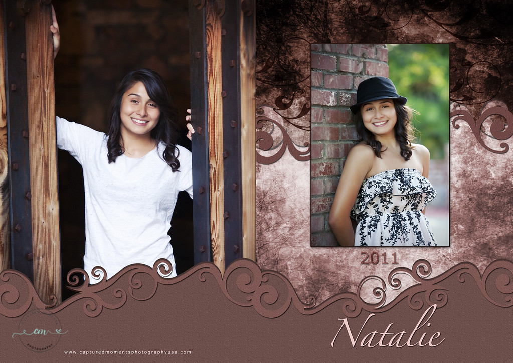 5x7 Graduation Card - Outside/Front & Back