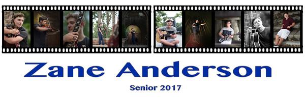 Zane Senior Picture Proof Collage 2017