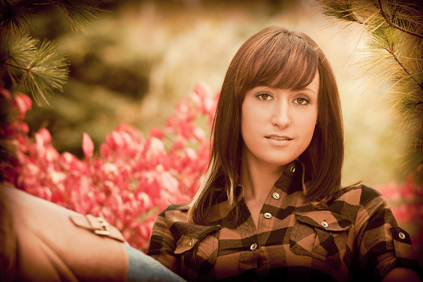 Autumn Senior Portrait Session