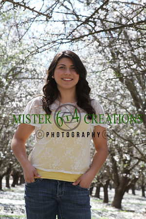 Toni Nicole Hedding - Madera High School - 2012