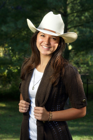 Senior Portraits of Haley