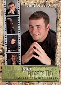 Tyler Grad announcement 5x7