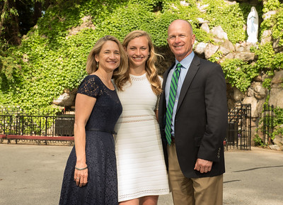 Dana's Notre Dame Grad Portraits Complete