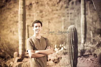 Davie Senior Portraits