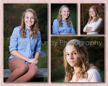 Kristen 8x10 collage