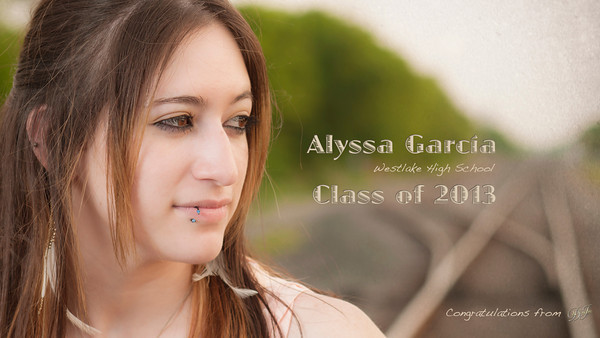 2013 Alyssa G Senior Credited