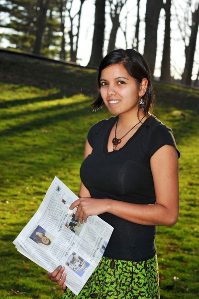 Nilanjana Saha, former Editor in-chief, The Bucknellian