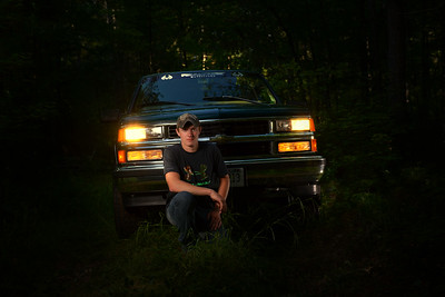 Your car or truck can be in your Senior Portrait Session