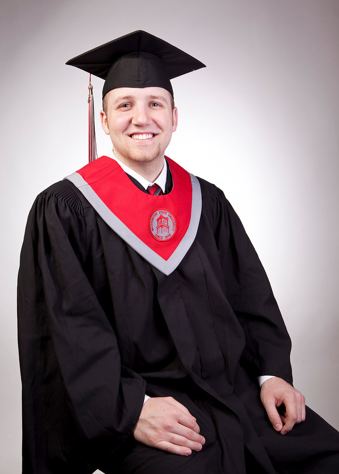 Proofs of the college senior shoot for Kyle Mahlstedt