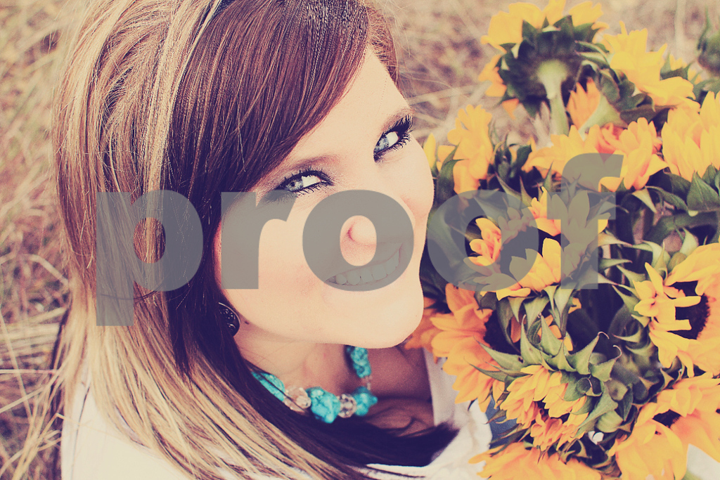 Sunflowers and Blue Eyes