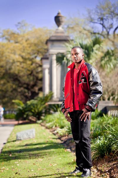 DeVante' Turner, Andrews Photography Senior 2012