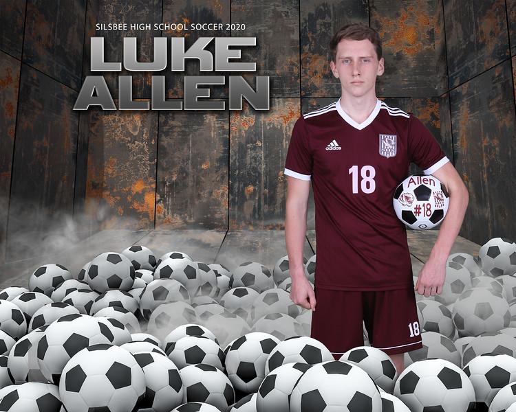 8x10 Soccer balls Luke