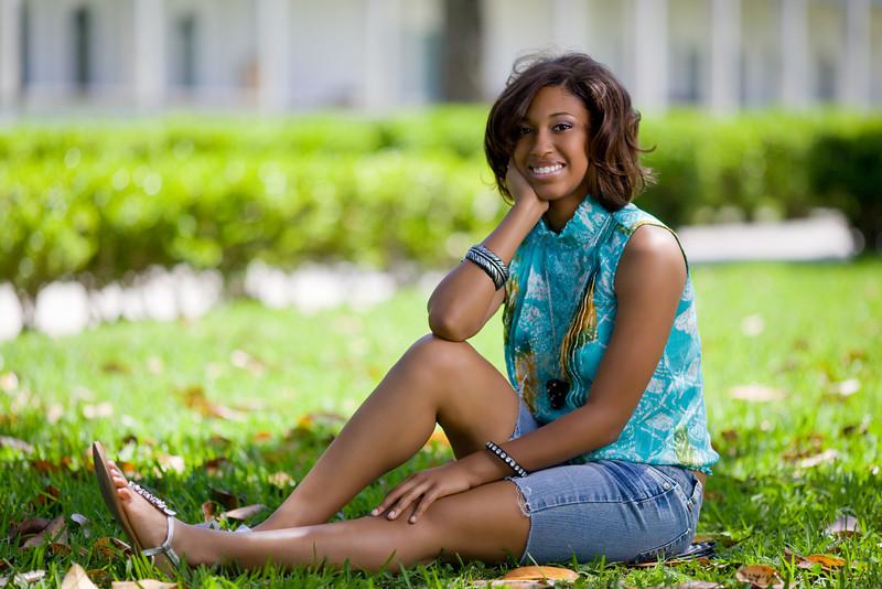 Tasha high school senior portrait, New Orleans, LA
