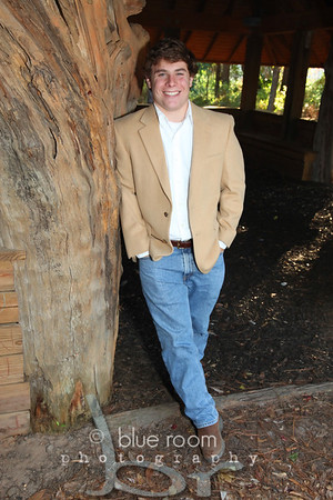 Sam Parker, Senior Portrait  Odom Tree House/Beckwith Camp and Conference Center