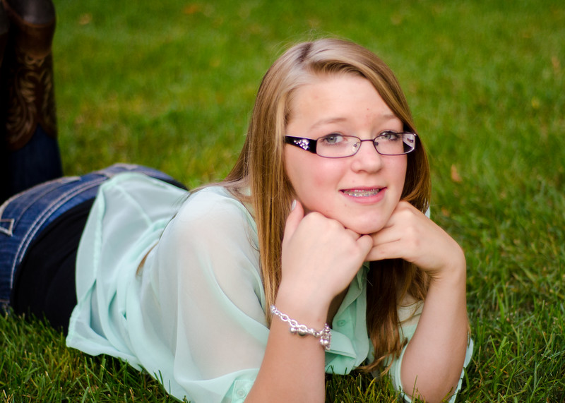 Senior portrait/tween session
